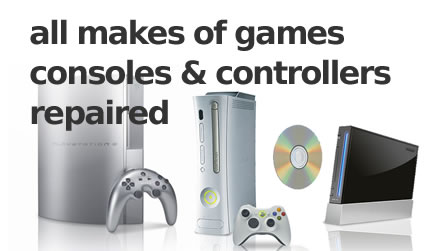 games console - playstation xbox repair